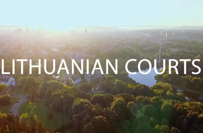The official video of the Lithuanian courts